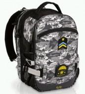 Školní batoh NUN 200 C - Grey  860d068dfa