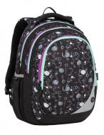 Školní batoh Bagmaster Maxvell 9 A Black   Gray   Violet 7e36f93aaf