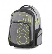 Studentský batoh OXY Style GREY LINE Green 2d5ba709a4