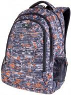 Studentský batoh oranžovo - šedý maskáč fb0b68bbe2