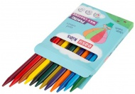 Voskovky Easy Colours Plastissimo - 12 ks