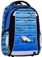 58d4416e3ac Klučičí školní batoh Mercury 7B Blue Black Grey