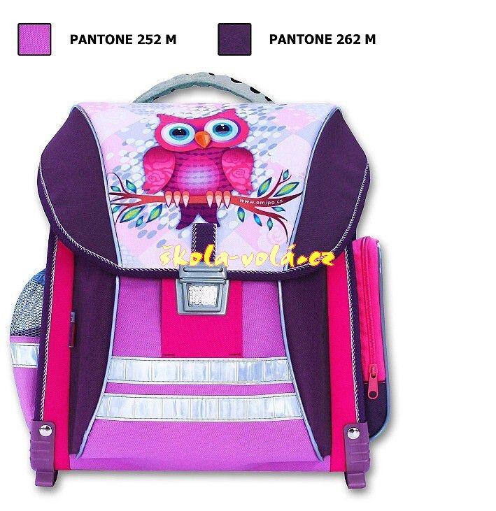 Školní batoh Sova  5ce84630b6