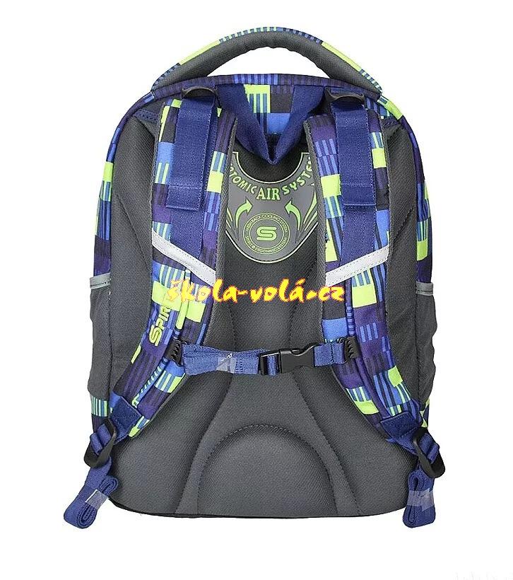 Studentský batoh SPIRIT URBAN 04 modrá  83407cbcc3