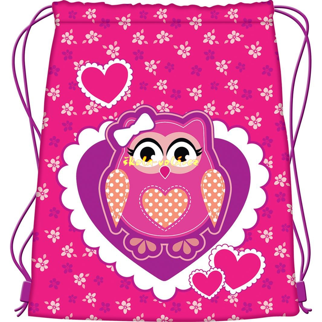 717f1531d92 Školní batoh Premium Owl + pytlík na přezůvky zdarma